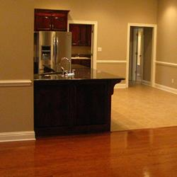 COUNTER TOPS AND HARDWOOD FLOORING