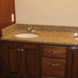 COUNTER TOPS AND LINEN CAB